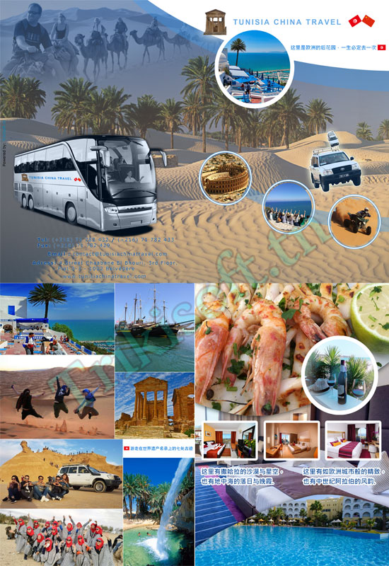 Flyer Tunisia China Travel